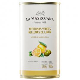 Aceitunas rellenas de limón.