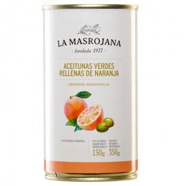 Aceitunas rellenas de naranja
